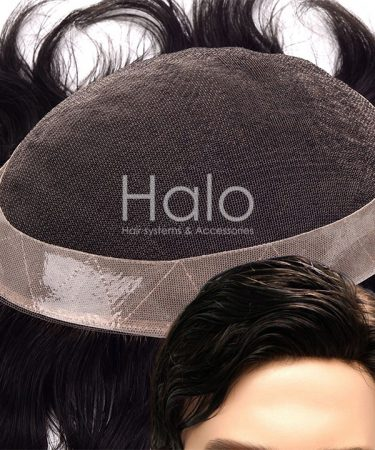 Folding Front Lace Hair System