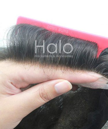 French Lace Hair System Hair Piece