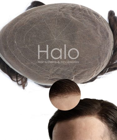Full French Lace Hair System Hair Piece