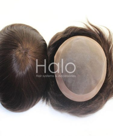 USA Fine Mono Hair Replacement System Hair Unit